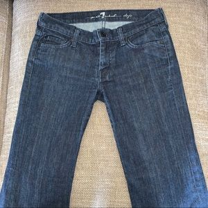 EUC 7 for all Mankind Dojo Jeans Size 27.